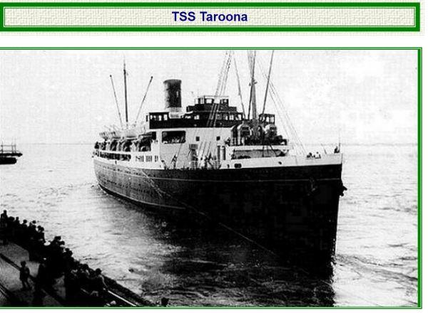 Taroona, Tasmanian passenger steamer