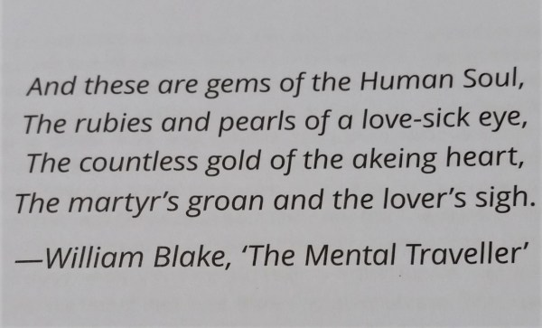 Quote on love by William Blake.