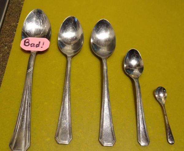 Porridge spoons.