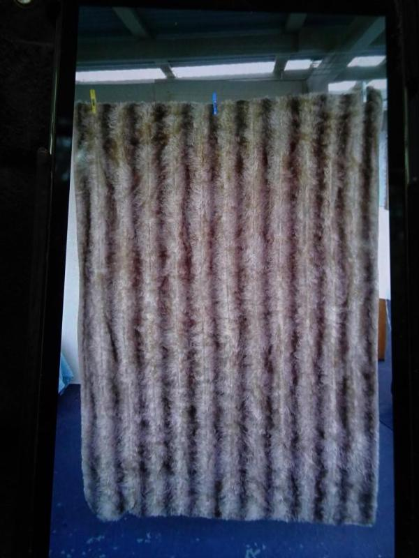 My grandmother Alice's fur rug.