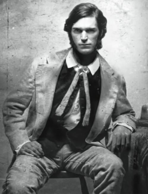The young bushranger Ben Hall.