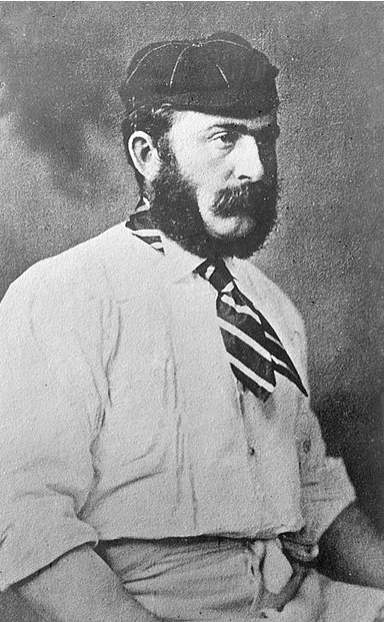 One of the 'old enemy' cricket captains, James Lillywhite.