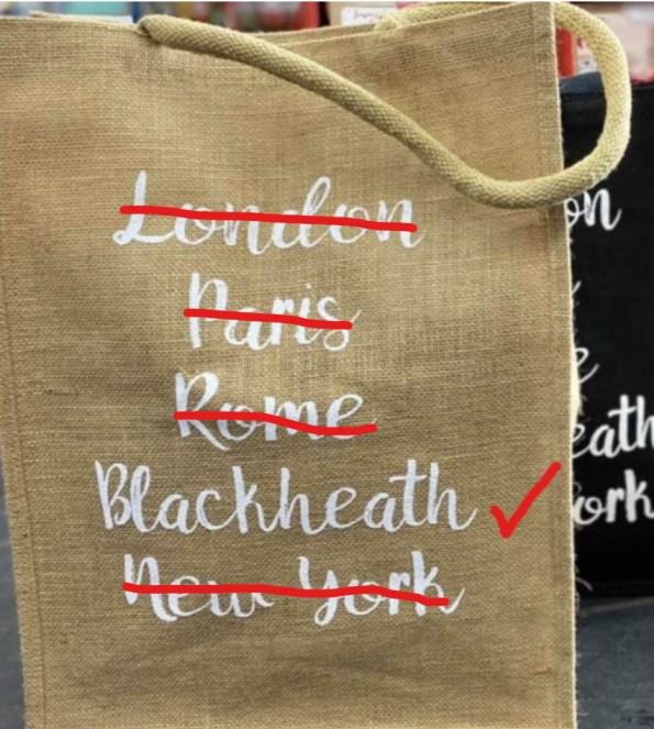 Where shall we spend Christmas 2020? Blackheath,