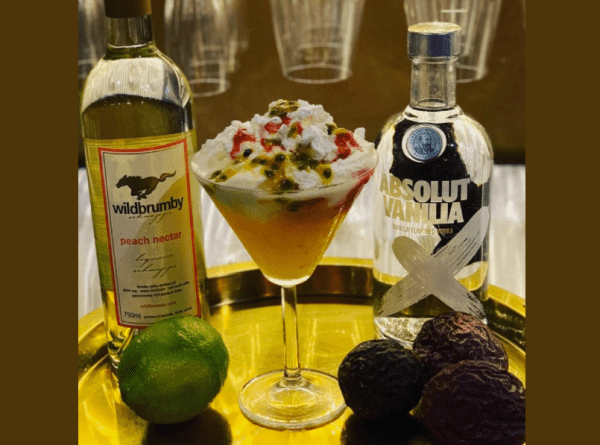 The perfect Aussie cocktail at Christmas.