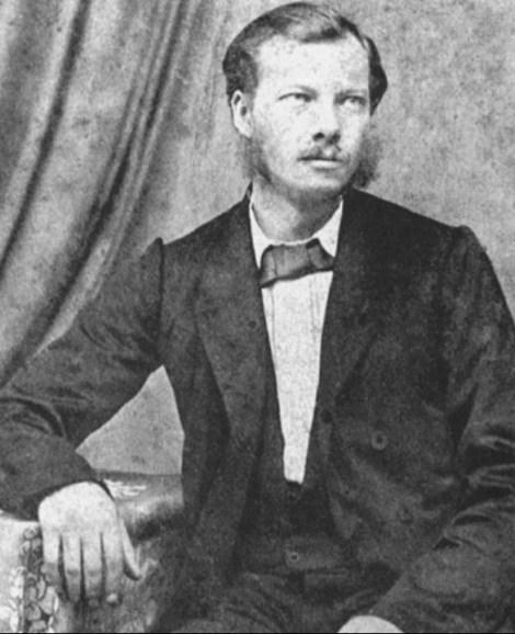 Portrait of Gerard Krefft.