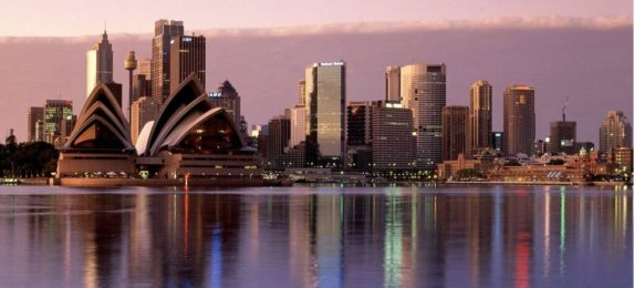 The Sydney Skyline, even more dear to my heart after the Twin Towers attack.