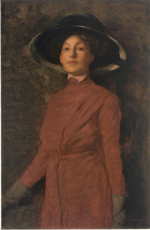 Portrait of Florence Rodway by Norman Carter.