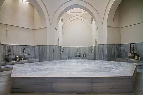 Interior of the Hamam for reference