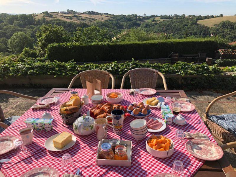 ontbijt in frankrijk