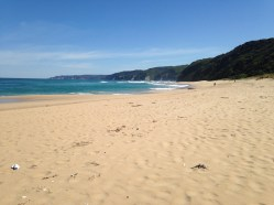 More soft sand on Johanna Beach
