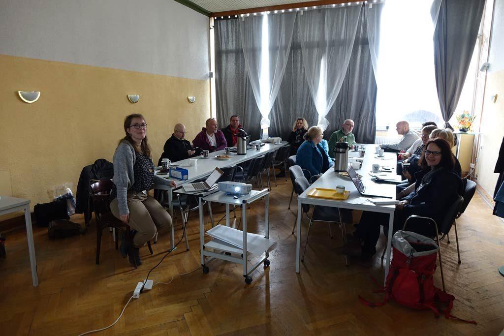 Teilnehmer WordPressschulung