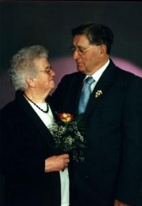 Am 22.03.2003 feierten Helmut und Hildegard Fritsch ihre Goldene Hochzeit.