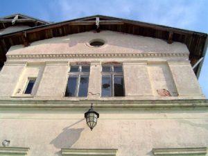Teil der Fassade im Ostflügel