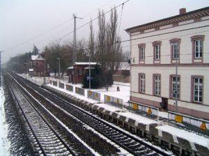 Blick in Richtung Wittenberge
