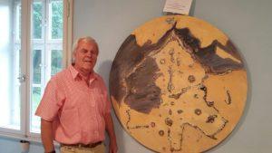 """In Sarows Ausstellung ist auch am Tage """"Der Mond"""" zu sehen."""