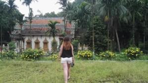 Temple à côté des grottes de Chiang Dao