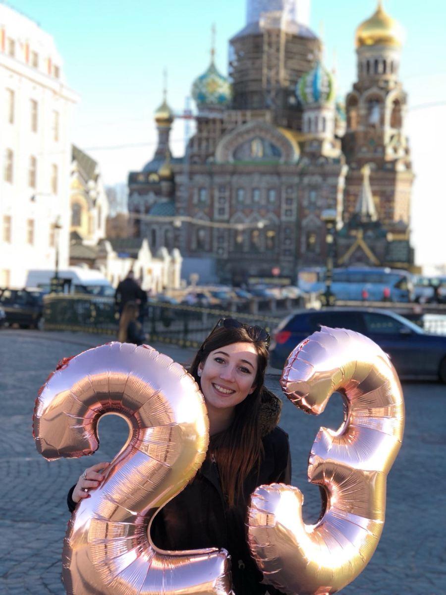 Une semaine en Russie pour fêter mes 23 ans !
