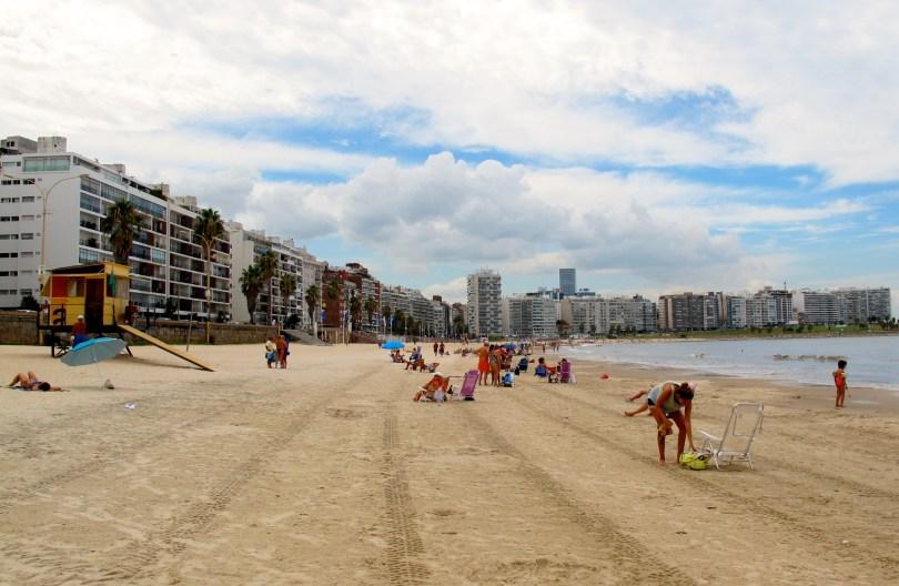 Montevideo City Beach, Uruguay