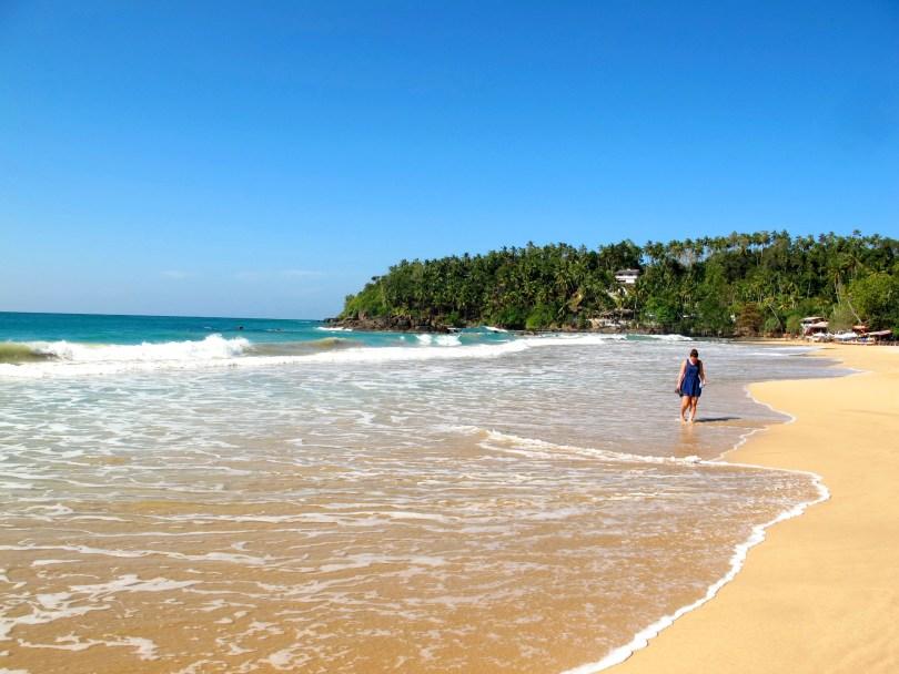 Mirissa Beach is a pearl of the Sri Lankan cost