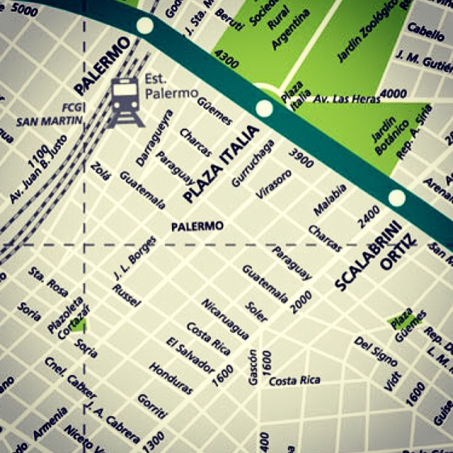 buenos aires palermo map