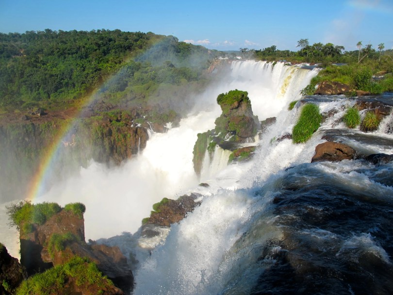 Iguazu Falls Argentina is 1 of 21 Sensational Places to Visit in South America