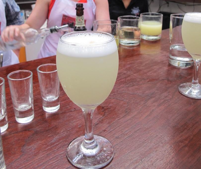 the Lima Gourmet Company and Pisco Sour - Peru o Chile?