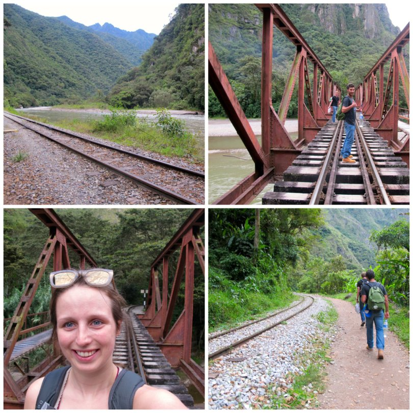 The Complete Guide Travel to Macu Picchu -  walking over the bridge