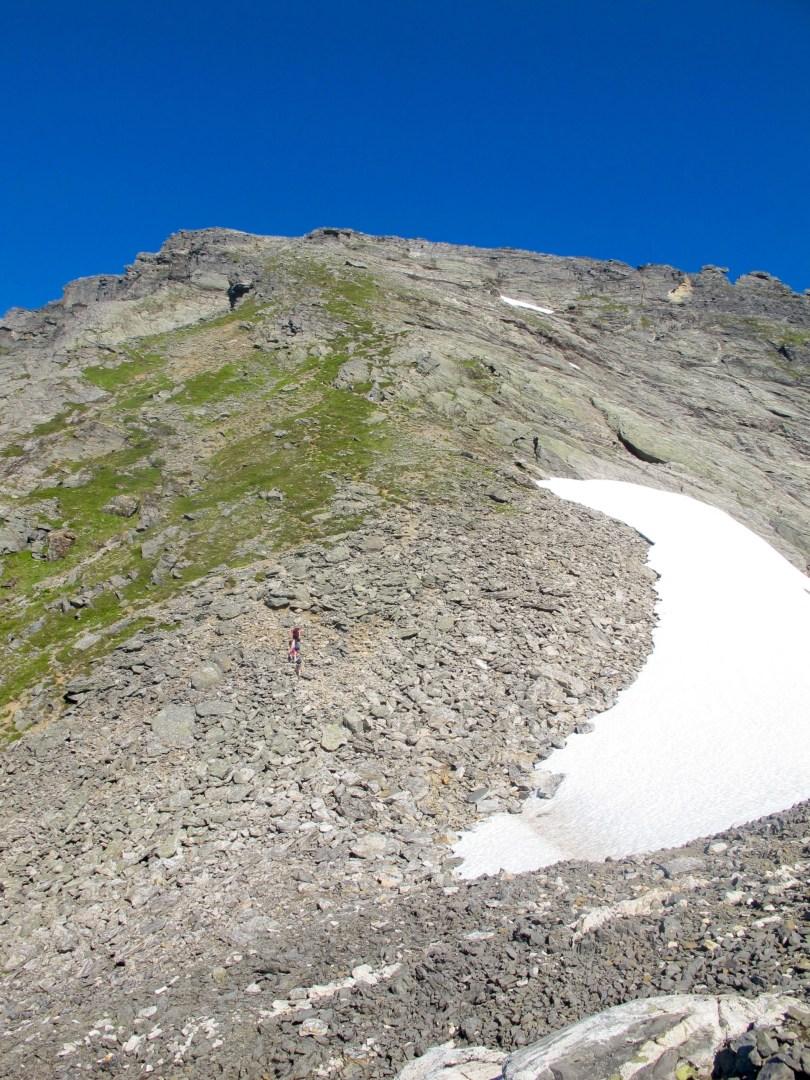 How to preform -  Hiking Lauparen - Last 400 meters