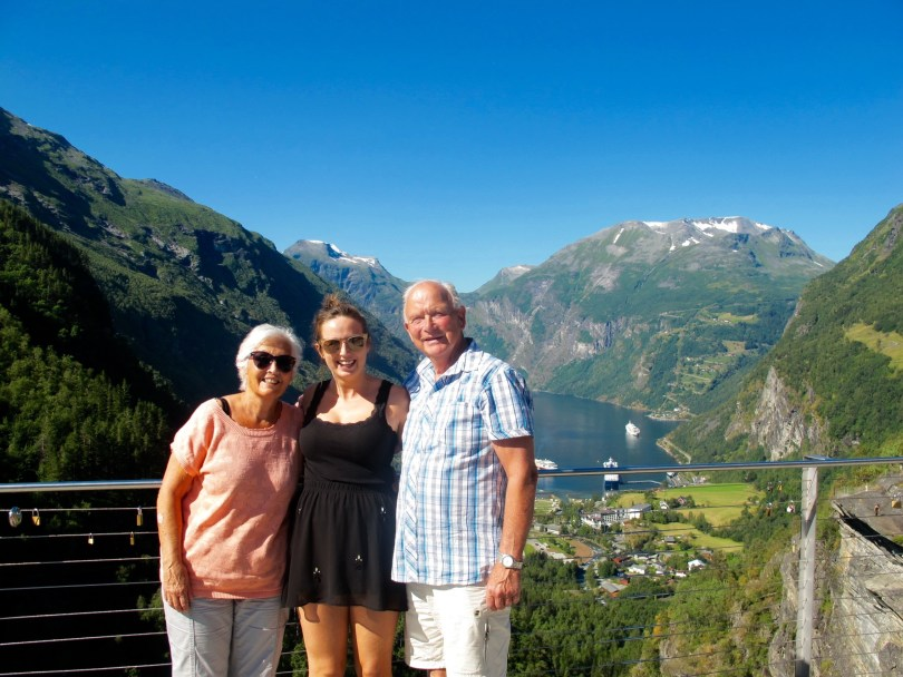 Pauline Travels on a Road trip Geirangerfjord & Dalsnibba