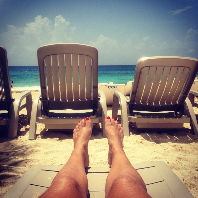 Great things to do in Cozumel is sometimes to just chill