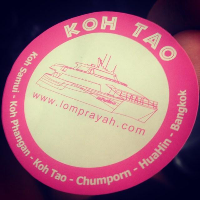 Lomprayah sticker