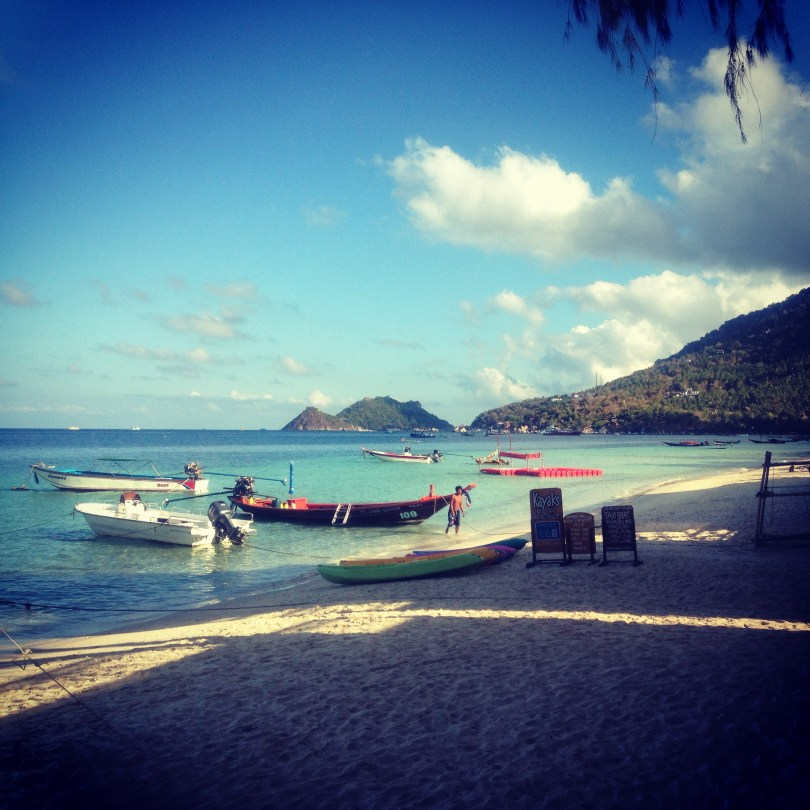Sairee Beach at Bans diving resort is one of many - Great things to do in Koh Tao