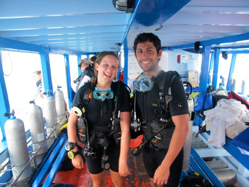 First time solo with my dive buddy one of the really 7 Great things to do in Koh Tao