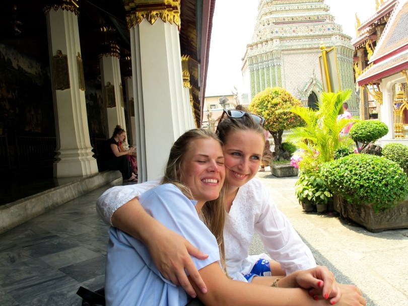 ighlights from Bangkok City,he temple of Emerald Buddha with my best friend