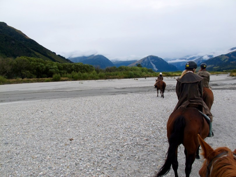 Horsebackriding in Queenstown with filming locations from the famous lord of the rings