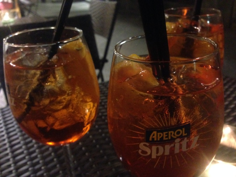 Dashing 48 Hours in Florence with Local Friends - Aperol Spritz