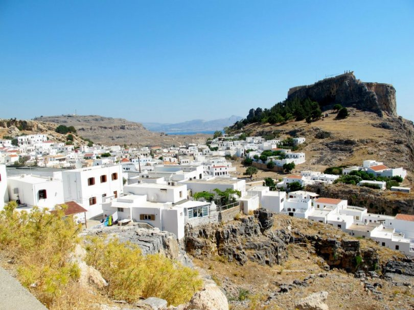 Things to do in Rhodes is to visit Lindos