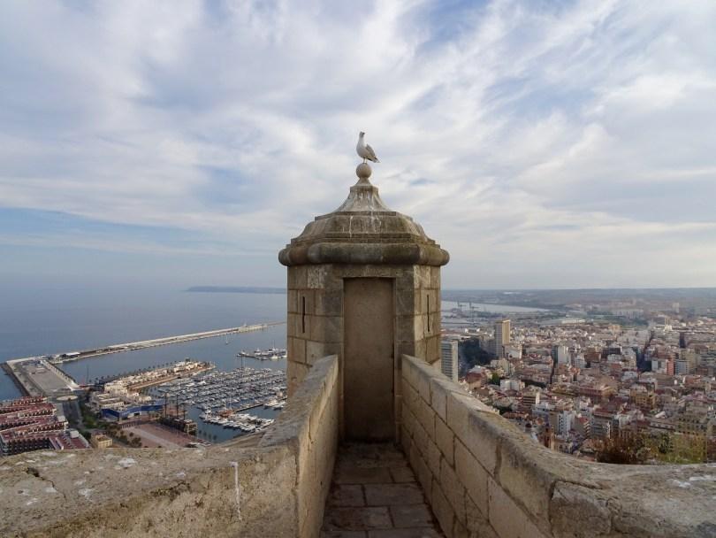 Castillo de Santa Bárbara in Alicante