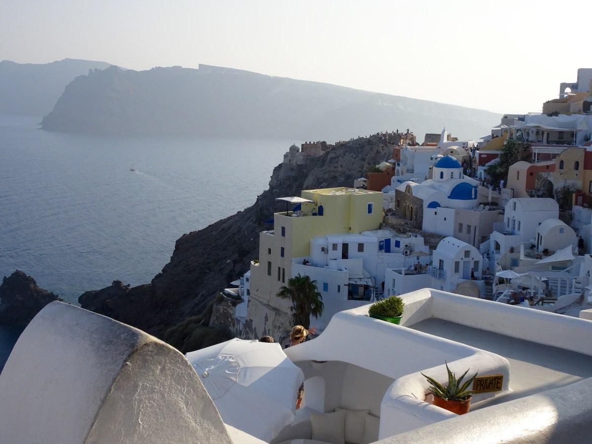 Postcard from Santorini & Sneak Peek of the trip
