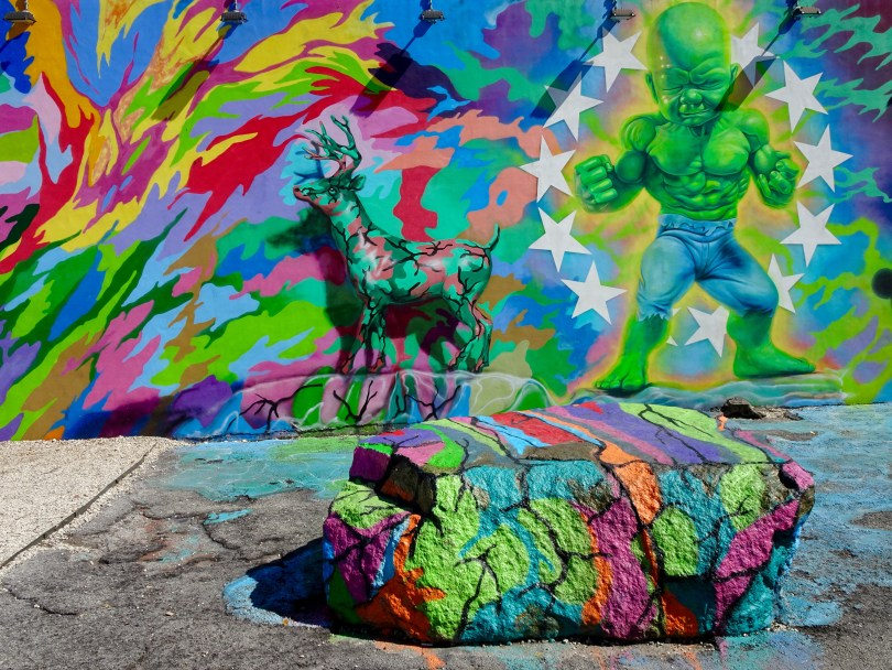 Wynwood Art District 70 artists representing 20 countries creates magic on 85 000 square feet of walls in Miami