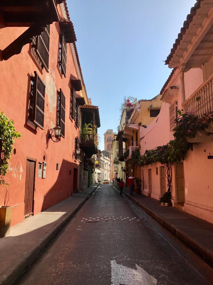 Old City in Cartagena de Indias