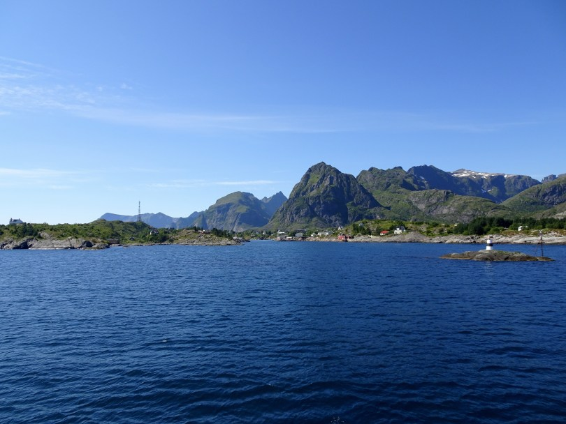The Ferry crossing from Bodø to Lofoten in Northern Norway