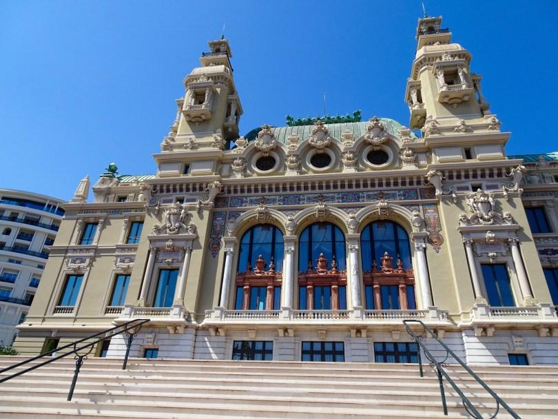 The Opera house in Monte Carlo, Monaco.