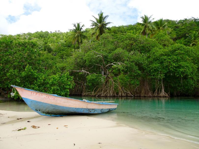 Playa Ricón close to Las Galeras. The Dominican Republic 2019
