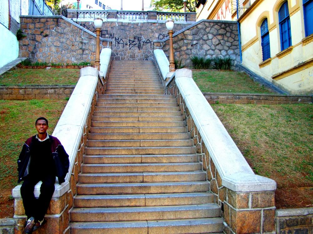 Mais uma bela vista na Bela Vista _ escadaria _ Fotos (4/6)