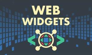 widget web