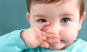 cara encerkan lendir pada bayi
