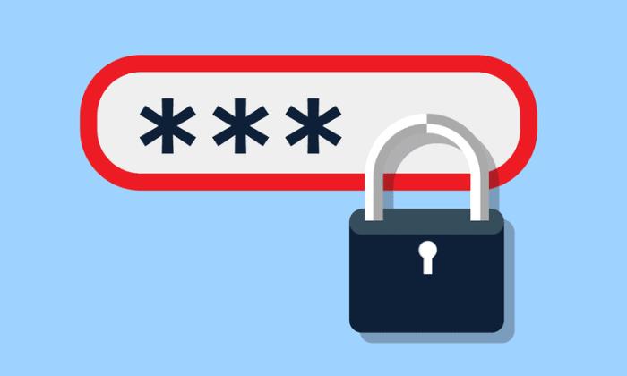 tips memasang password agar aman