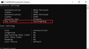 Cara Melihat Password WiFi di Windows 10 Dengan CMD