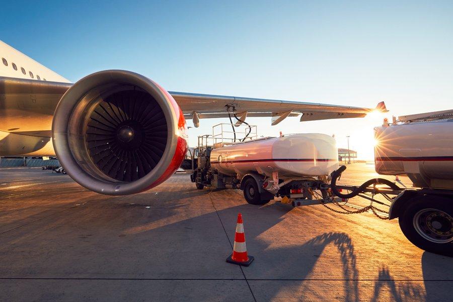 bahan bakar pesawat